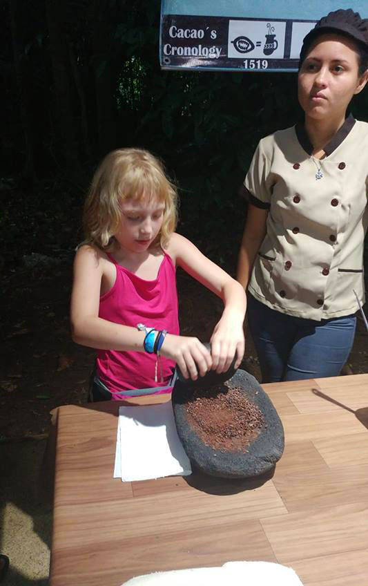 Hands-on chocolate making